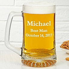 image of Groomsmen 25 oz. Beer Mug