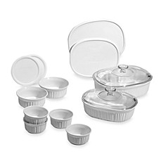 image of CorningWare® French White® 14-Piece Bakeware Set