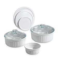 image of CorningWare® French White® 8-Piece Bakeware Set