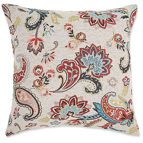 Make Your Own Decorative Pillow Covers : Make-Your-Own-Pillow Chantilly Square Throw Pillow Cover - Bed Bath & Beyond