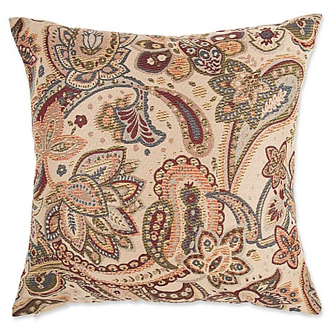How To Make Your Own Throw Pillow Covers : Make-Your-Own-Pillow Livorno Square Throw Pillow Cover - Bed Bath & Beyond