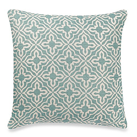 Make Your Own Decorative Pillow Covers : Make-Your-Own-Pillow Knottingham Square Throw Pillow Cover in Blue - Bed Bath & Beyond