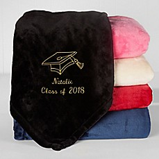 image of The Graduate Fleece Throw Blanket