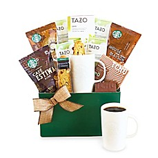 image of California Delicious Starbucks® Kick Start the Day Gift Basket