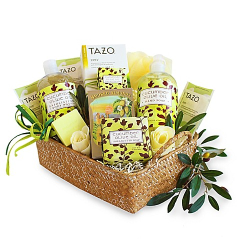 Bed Bath And Beyond Spa Gift Baskets