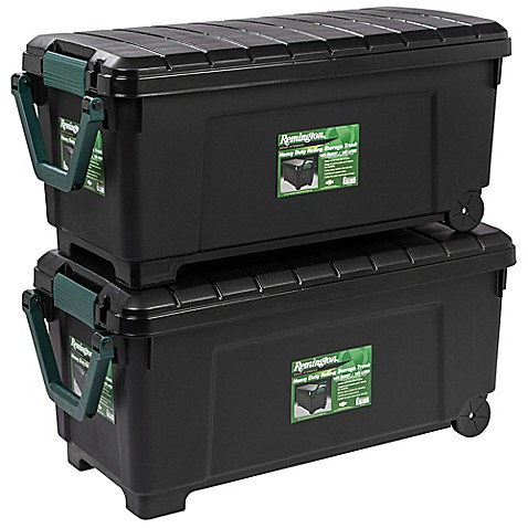 Genial Store It All Rolling Storage Totes In