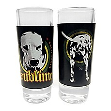 Iconic Concepts Sublime Art Shot Glasses In Tin (Set Of 2)