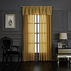 Paris Gold Rod Pocket Window Panel Pair In