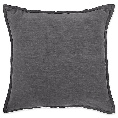 Make Your Own Decorative Pillow Covers : Buy Make-Your-Own-Pillow Sola Chenille Square Throw Pillow Cover in Grey from Bed Bath & Beyond