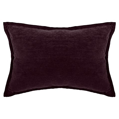 Make-Your-Own-Pillow Sola Chenille Rectangle Throw Pillow Cover - Bed Bath & Beyond