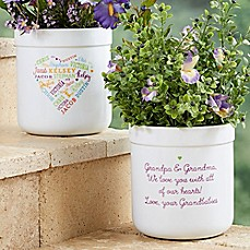 image of Close to Her Heart Outdoor Flower Pot