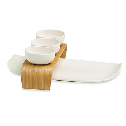 villeroy boch urban nature 5 piece condiment serving set. Black Bedroom Furniture Sets. Home Design Ideas