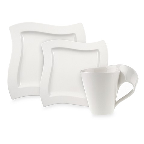 Villeroy boch new wave 12 piece dinnerware set bed for Villeroy boch wave