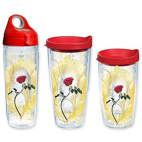 Tervis Disney Beauty And The Beast Rose Wrap Drinkware
