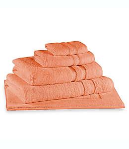 Toalla facial Ultra Soft MICRO COTTON® Wamsutta® en coral