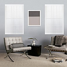 image of GLOWE by The Shade Store® Custom Cordless Classic Wood Blinds