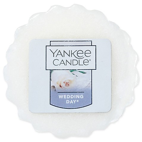 yankee candle wedding day tarts