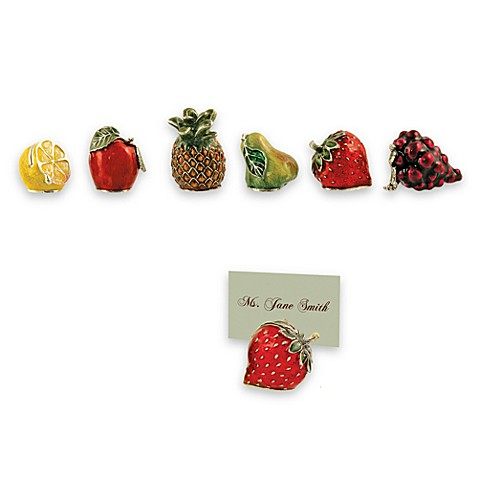 Fruit Place Card Holders (Set of 6)