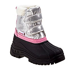image of Josmo Shoes Rugged Bear Snow Boot in Silver