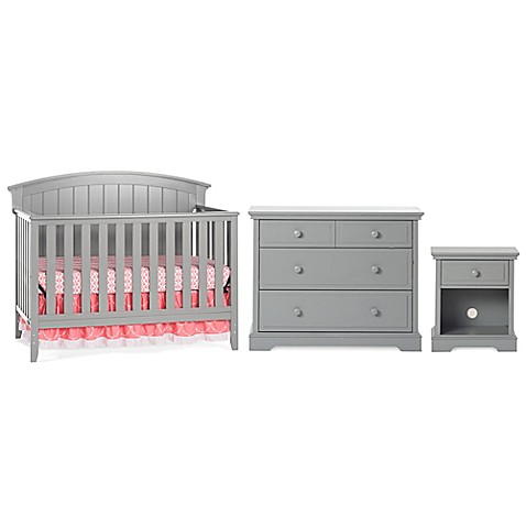 Child Craft Delaney Nursery Furniture Collection In Cool Grey Buybuy Baby