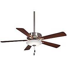 image of Minka-Aire® Contractor 52-Inch 1-Light Ceiling Fan with Remote Control