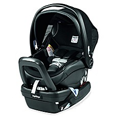 image of Peg Perego Primo Viaggio 4-35 Nido Infant Car Seat in Leather Licorice
