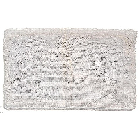 Buy Super Sponge 24 Inch X 60 Inch Bath Mat In White From
