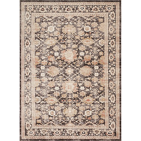 Magnolia Home By Joanna Gaines Trinity Rug In Mocha Bed