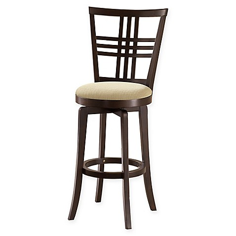 Buy Hillsdale Tiburon 30 Inch Swivel Bar Stool In Espresso