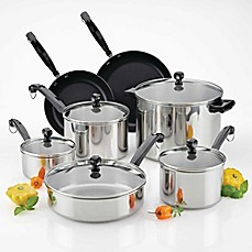 image of Farberware® Classic Series™ II 12-Piece Cookware Set and Open Stock