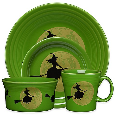 Fiesta® Halloween Harvest Moon Witch Dinnerware Collection  sc 1 st  Bed Bath u0026 Beyond & Halloween Dinnerware | Halloween Entertaining | Bed Bath u0026 Beyond