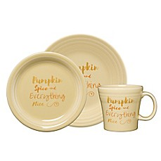 Fiesta® Halloween Pumpkin Spice Dinnerware Collection  sc 1 st  Bed Bath u0026 Beyond & Halloween Dinnerware | Halloween Entertaining | Bed Bath u0026 Beyond