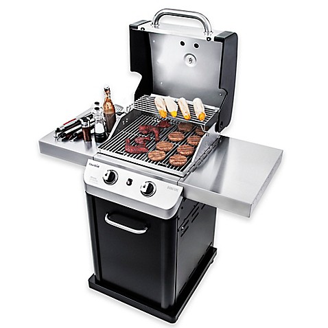 Char-Broil® Signature™ 463675517 Cabinet 350 2-Burner Gas Grill in ...