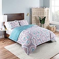 Image Of Vue Aura Reversible Comforter Set In Blue Part 96