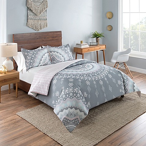 vue mira reversible comforter set in grey bed bath beyond 15484 | 12223583325920m 478