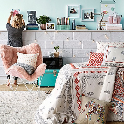 Boho Chic Dorm Room