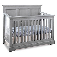 image of westwood design hanley 4in1 convertible crib in cloud - White Baby Crib