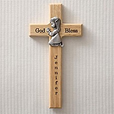 image of Praying Child Wall Cross
