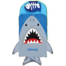 image of Stephen Joseph® Shark Nap Mat in Grey