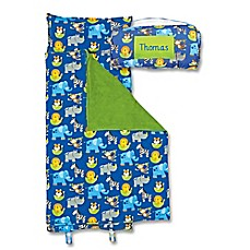 image of Stephen Joseph® Zoo Print  Nap Mat in Blue