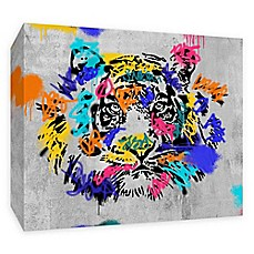 image of PTM Images Street Tiger 20-Inch x 16-Inch Canvas Wall Art
