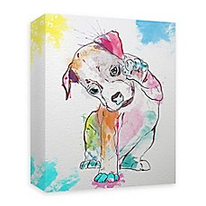 image of Boxer Paint 16-Inch x 20-Inch Canvas Wall Art