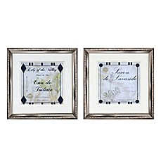 Ordinaire Lily And Lavender Wall Art (Set Of 2)