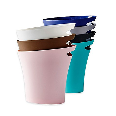 bath cans - trash can, wastebasket, step-on can & more - bed bath