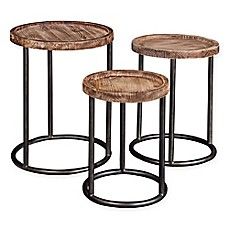 image of Broyhill™ Bedfrod Ave Nesting Tables in Brown