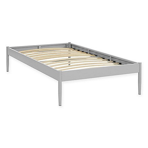 Bed Frames No Slats Bed Bath And Beyond