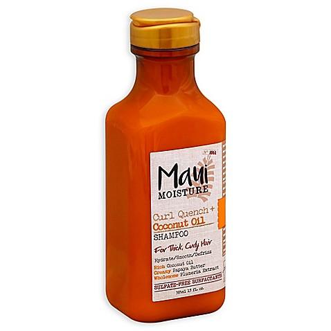 Maui Moisture Curl Quench Coconut Oil 13 Fl Oz Shampoo