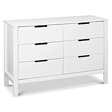 image of carter's® by DaVinci® Colby 6-Drawer Dresser in White