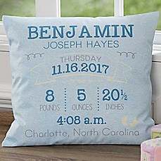 Personalized nursery dcor baby wall hangings wall art bed i am special square throw pillow negle Images