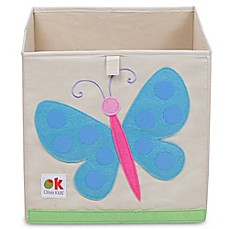 Olive Kids Butterflies Storage Cube